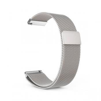 Сменный ремешок для Amazfit Bip металлический Серебристый