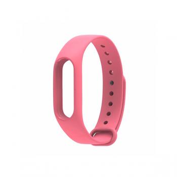 Силиконовый ремешок для Xiaomi Mi Band 3 Розовый